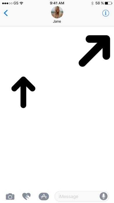 ステッカーパックを矢印!のスクリーンショット3