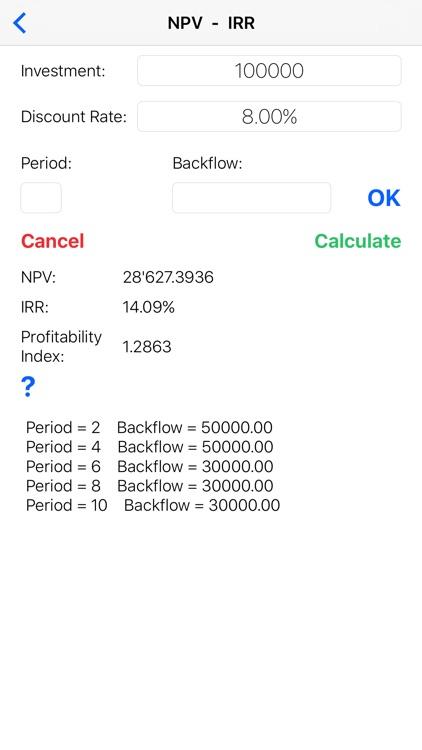 FinCalcPro - Financial Mathematics solver screenshot-3