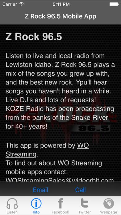 Z Rock 96 5 | From Abacast, Inc  | Wqxri apps store