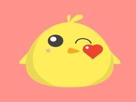 Cute Chickens - Fc Sticker