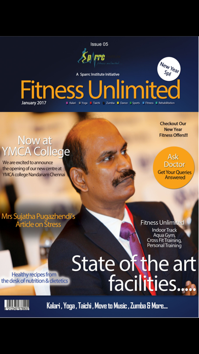 Fitness Unlimited Magazine screenshot 1