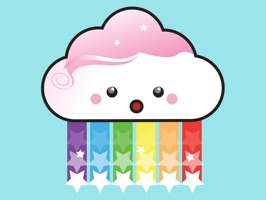 These adorable kawaii weather stickers will brighten any message wether it's to let friends know when it's going to rain or even just to say hello