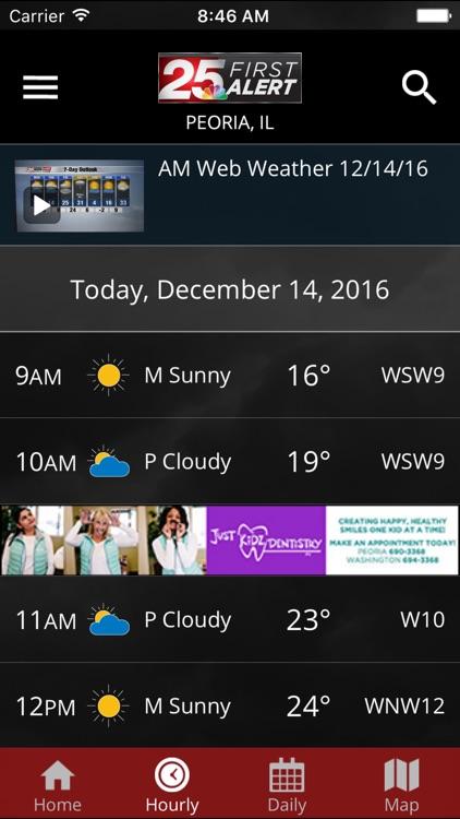 25 News First Alert Weather screenshot-3
