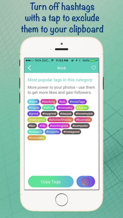 HashTags Pro - Hashtag Manager for Instagram screenshot-3