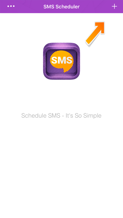 SMS HERO - Schedule any sms to be sent on time screenshot 1