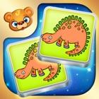 123 Kids Fun MEMO CARDS Matching Slide Puzzle Game icon