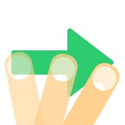 --> Arrow Swipe <--