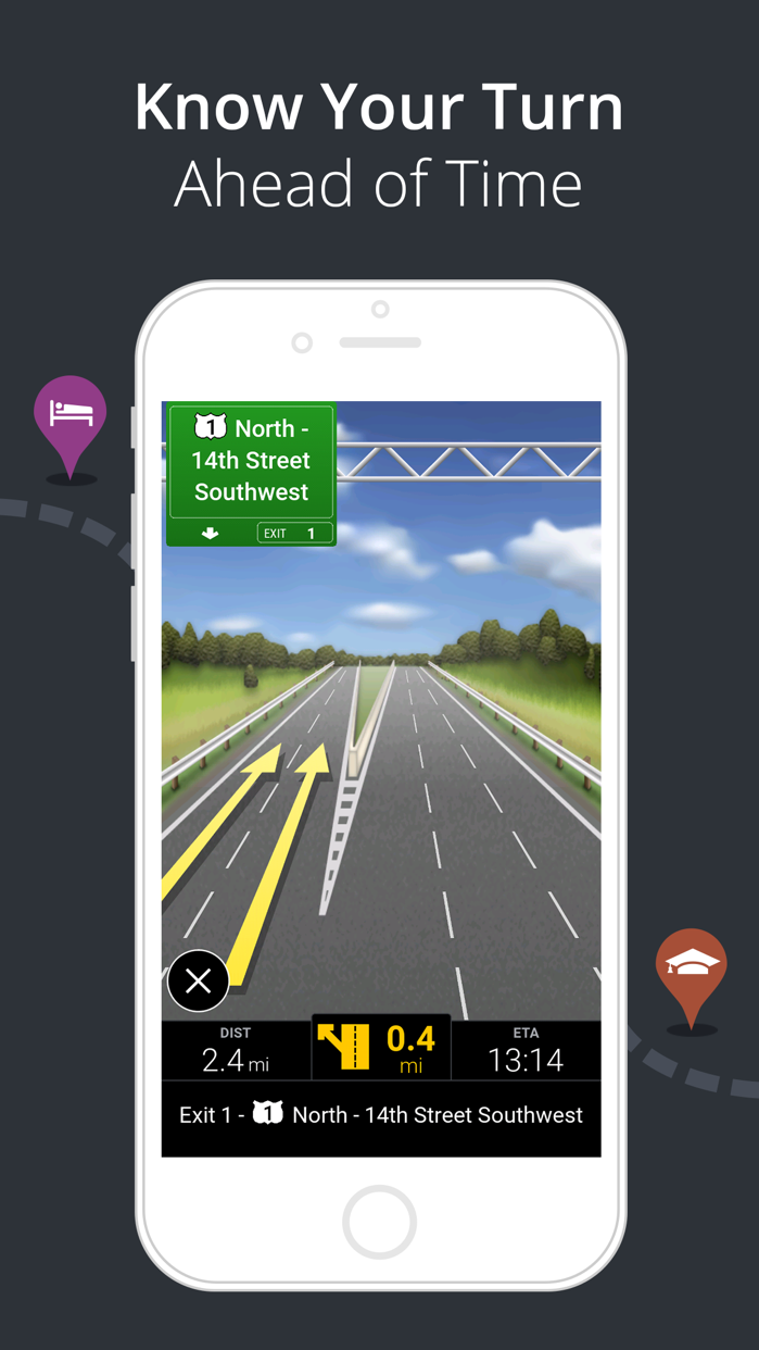 CoPilot GPS – Car Navigation Screenshot