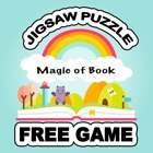 Magic of Book Jigsaw Puzzle Free Kids Art Table icon