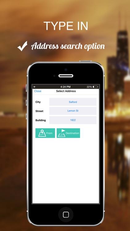 Connecticut, USA : Offline GPS Navigation screenshot-4