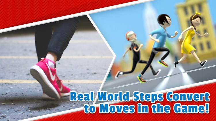 Fitness Race - The Step Counter Game