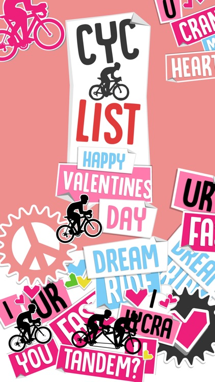 CycList Valentines
