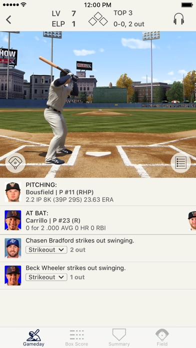 MiLB First Pitch app image