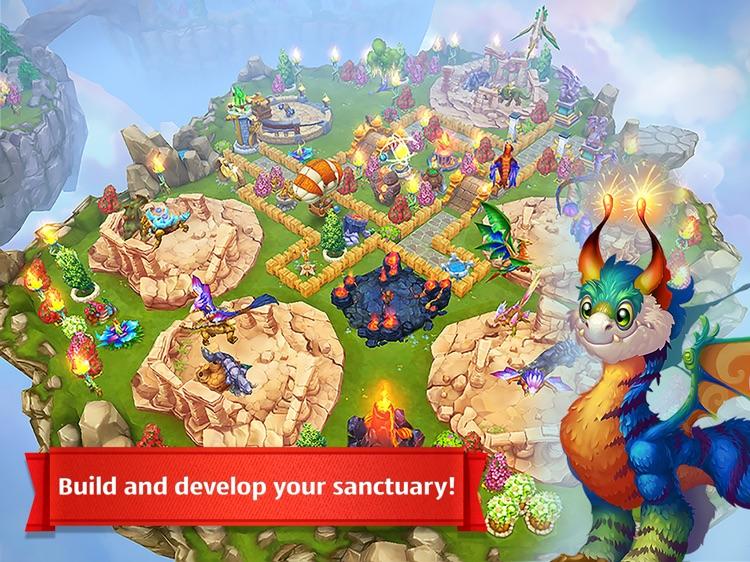 Dragons World HD screenshot-3