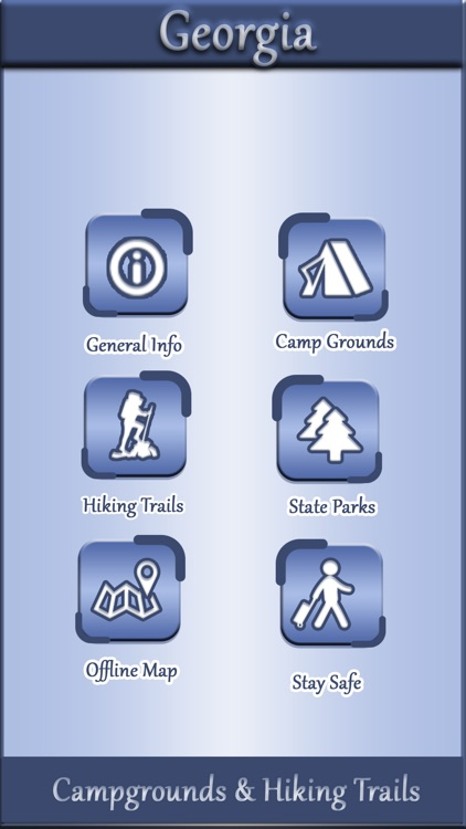Georgia Camping & Hiking Trails screenshot-0
