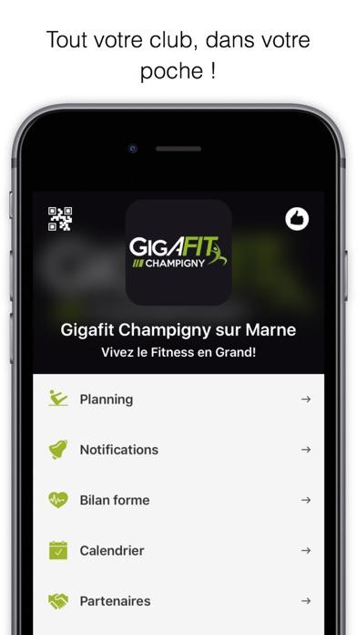 Screenshot #1 pour Gigafit Champigny