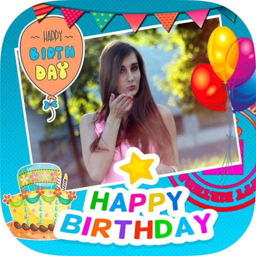 Happy Birthday Photo Frames Edit And Create Cards By