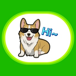 CorgMoji - Corgi Dog Emoji Stickers