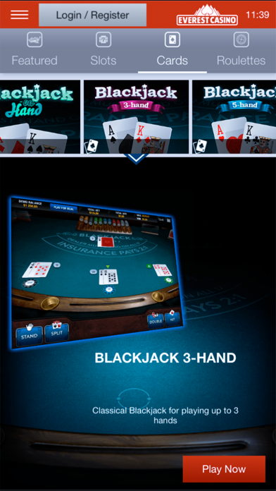 Everest Casino screenshot two