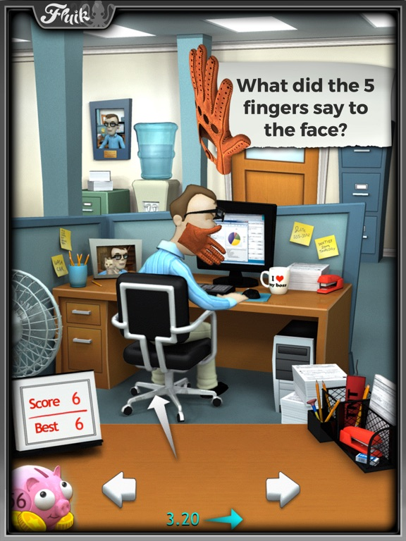Office Jerk for iPad screenshot one