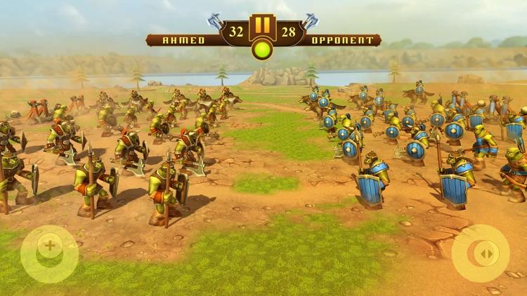 Orcs Battle Simulator – Epic War Commander Game screenshot-4