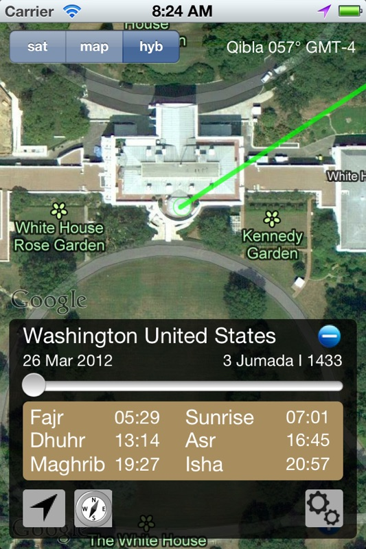 3 Minutes to Hack Qibla Direction, Prayer Alerts and Mosques