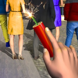VR Bang Fireworks 3D New Year