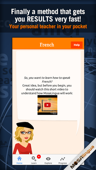 Screenshot #1 pour Apprendre le Français