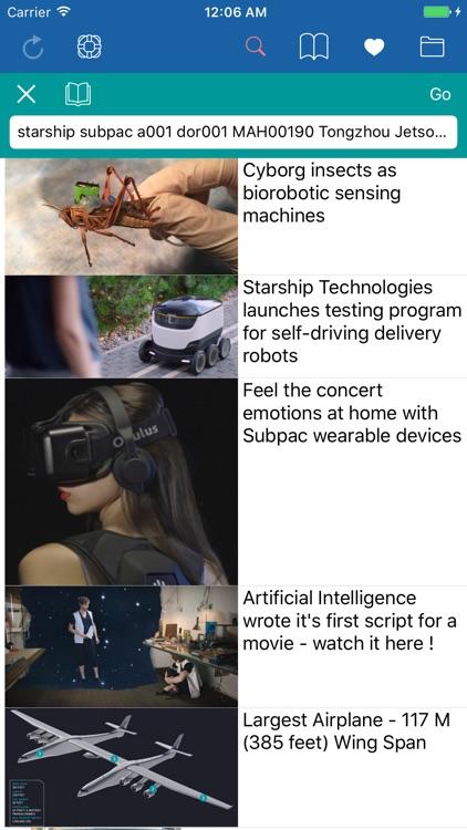 Videnda Science News 2.0 screenshot-0