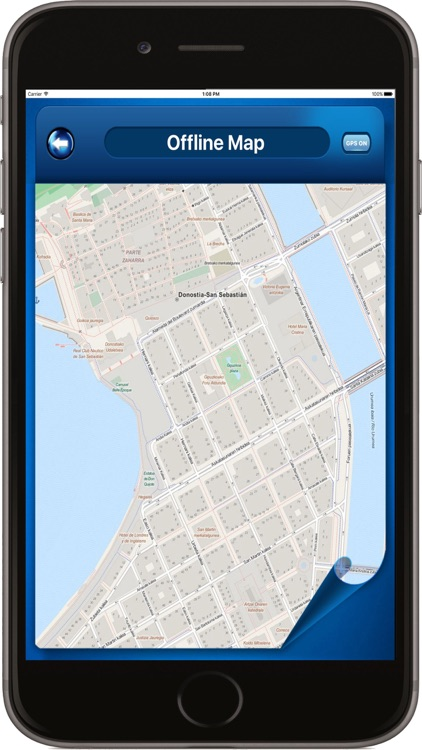 San Sebastián Spain - Offline Maps Navigator screenshot-1