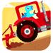 72.恐龙农场 - 拖拉机总动员,汽车和赛车儿童游戏