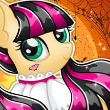 Pony Monster High Fashion Dress Up Salon Games