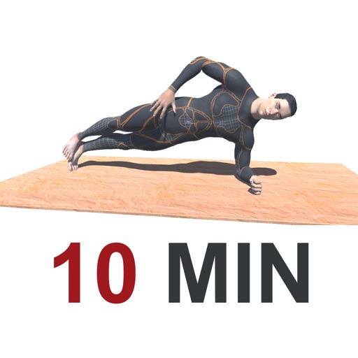 10 Min PLANKS Workout Challenge Free - Tone, Abs