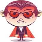 Funny Dracula stickers by KORCHO icon