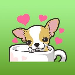 Kawaii Chihuahua Dog Stickers