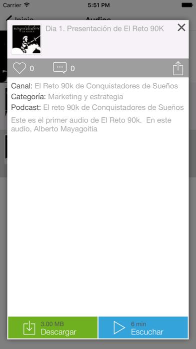 El Reto 90k de Conquistadores de Sueños Screenshot