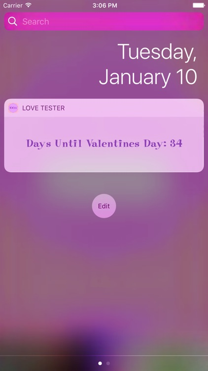 Love Tester ◌