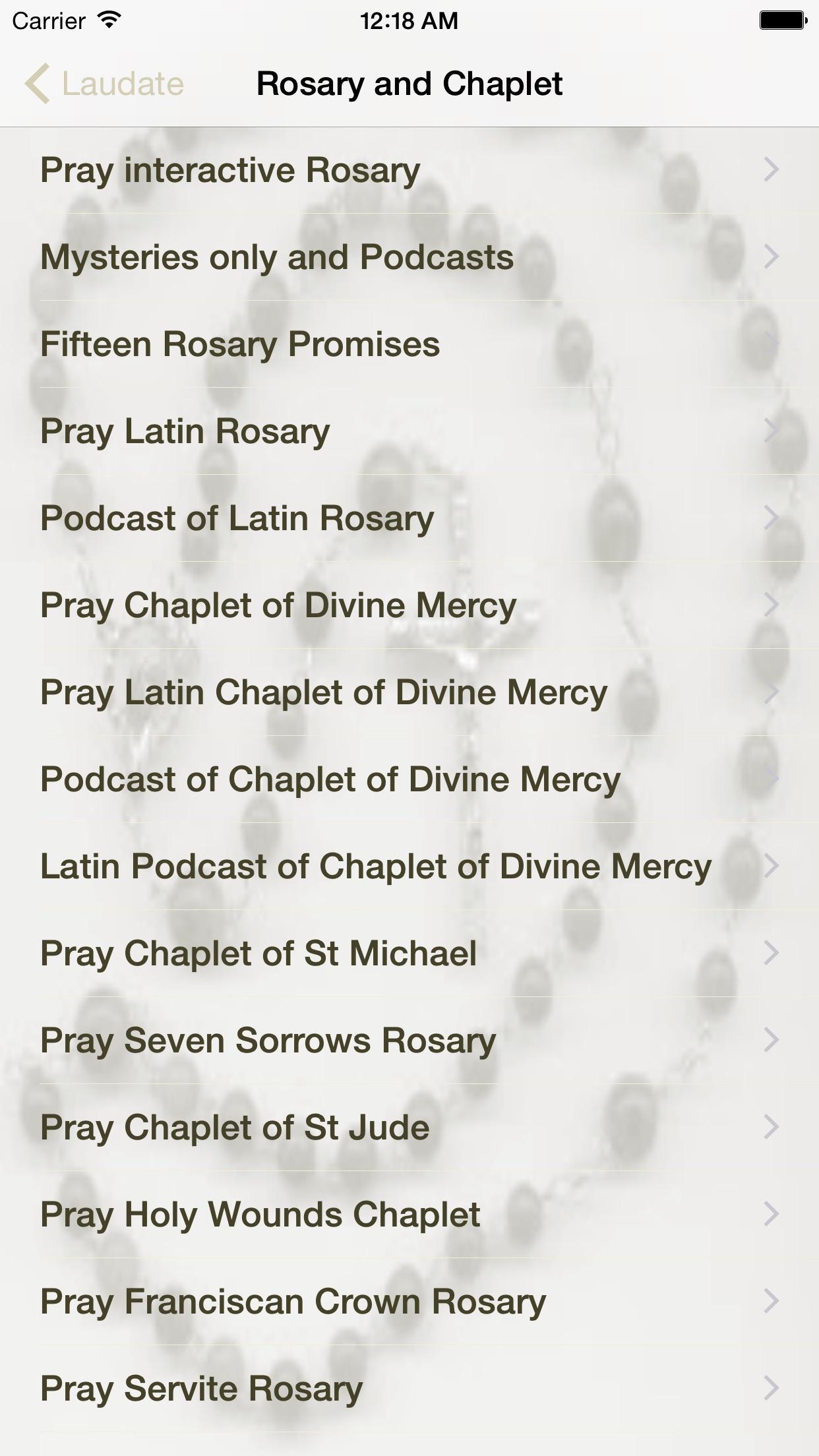 Laudate - #1 Catholic App Screenshot