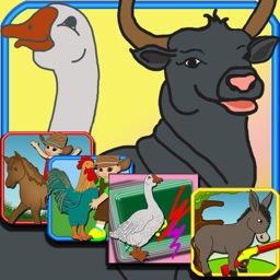 Fun Games With The Farm Animals