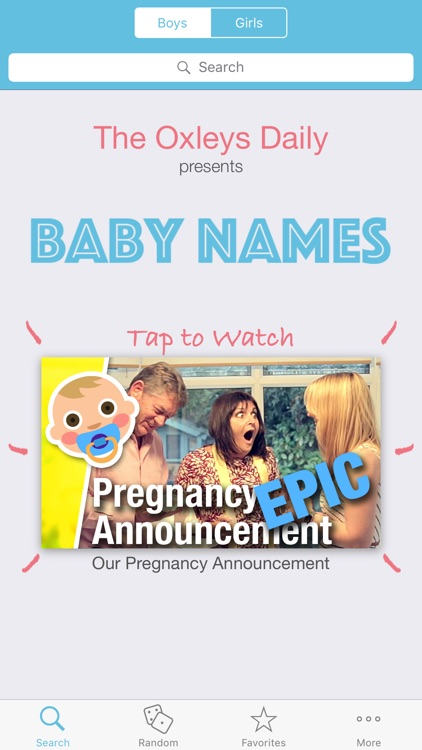 Pip : The Baby Name App
