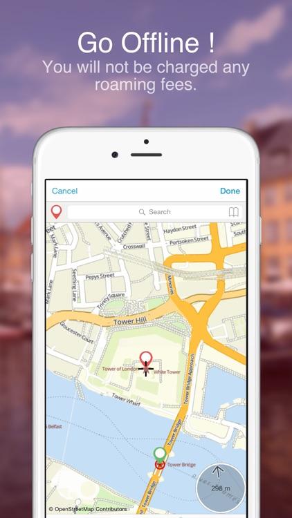London on Foot : Offline Map screenshot-3