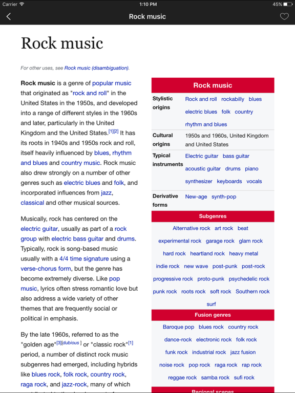 WikiBook - 极速智能的在线维基百科阅读器のおすすめ画像3