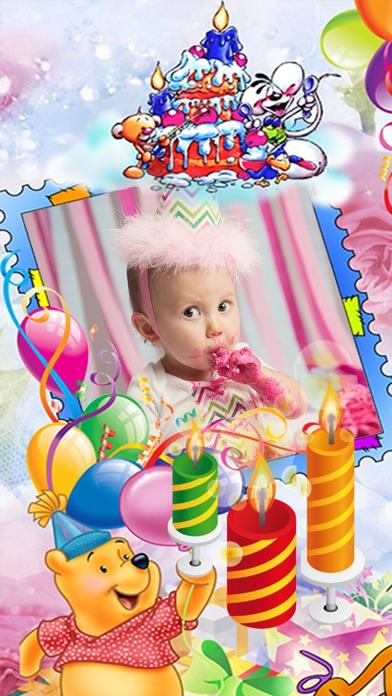 Happy Birthday Photo Frame & Greeting Card.s Maker
