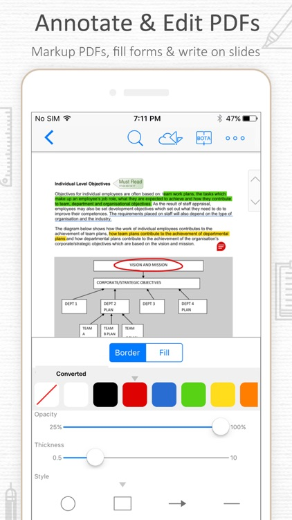 PDF Reader-Document Expert screenshot-1