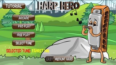 Harp Hero Screenshot