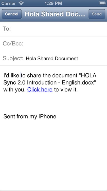 Hola Mobile Three screenshot-3