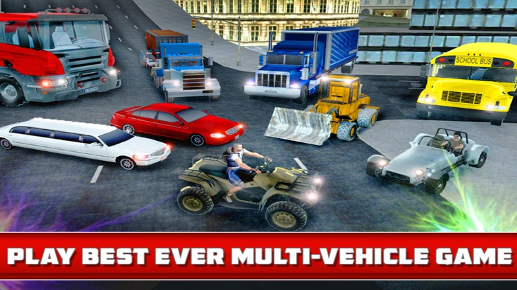 Bus, Car, Truck - Multi Level Parking Simulator 3D app image