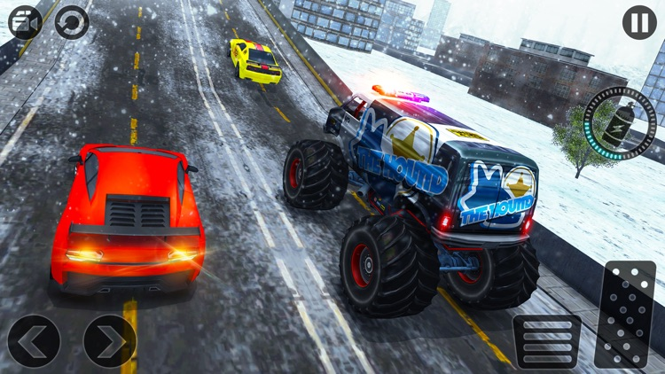 Crazy 4x4 Monster Truck Racer 2017-Stunt Racing 3D