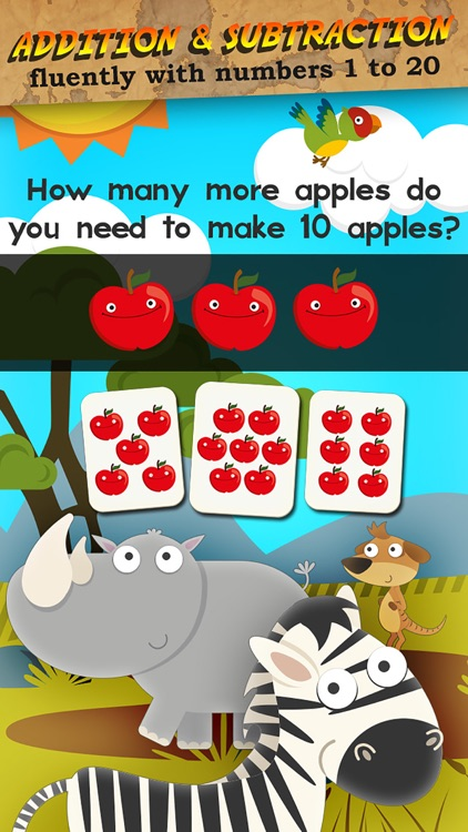 Animal Math 1st Grade Math