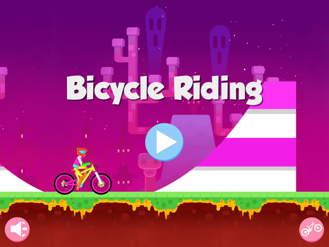 Bicycle Riding - mountain bike racing games, game for IOS